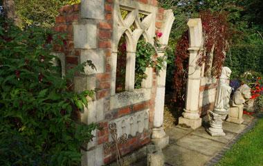 Cheshire garden folly