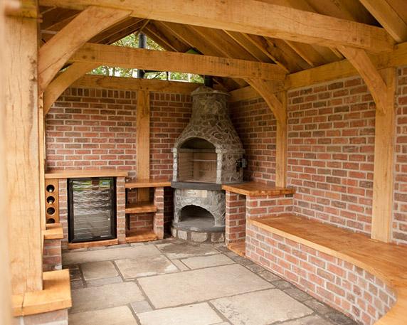 Garden building design Cheshire