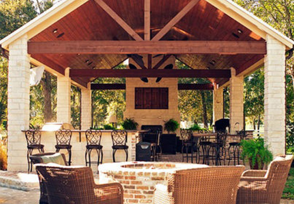 Cheshire outdoor room