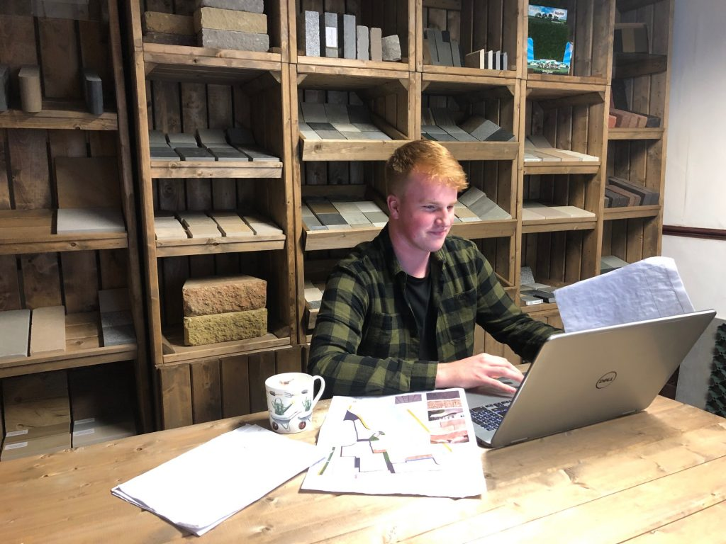 Bradley, Landscape Architect Student and Assistant Designer at Evergreen Cheshire Ltd