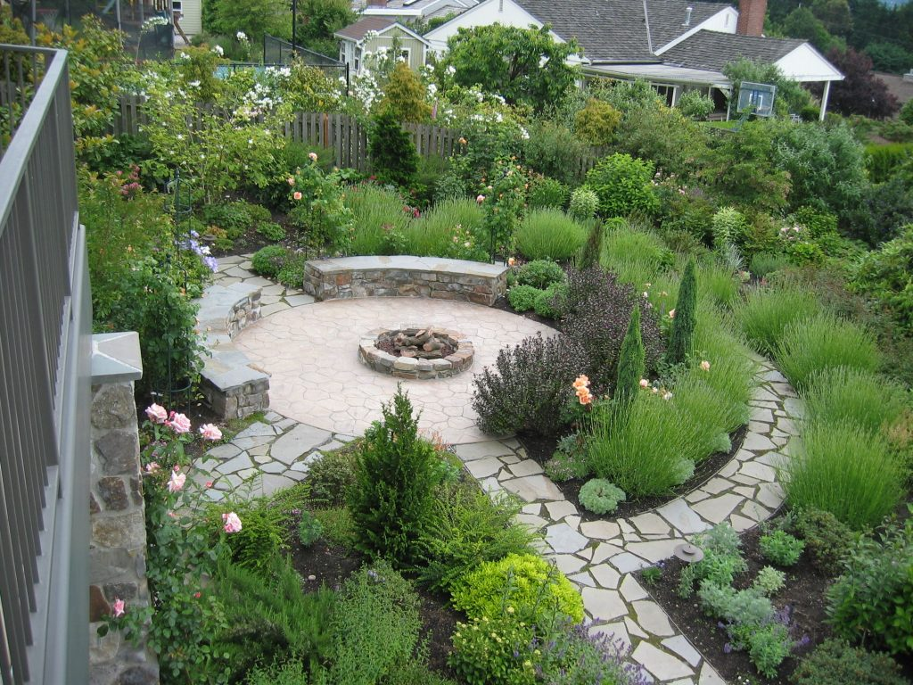 root ball & pot plant garden landscaping