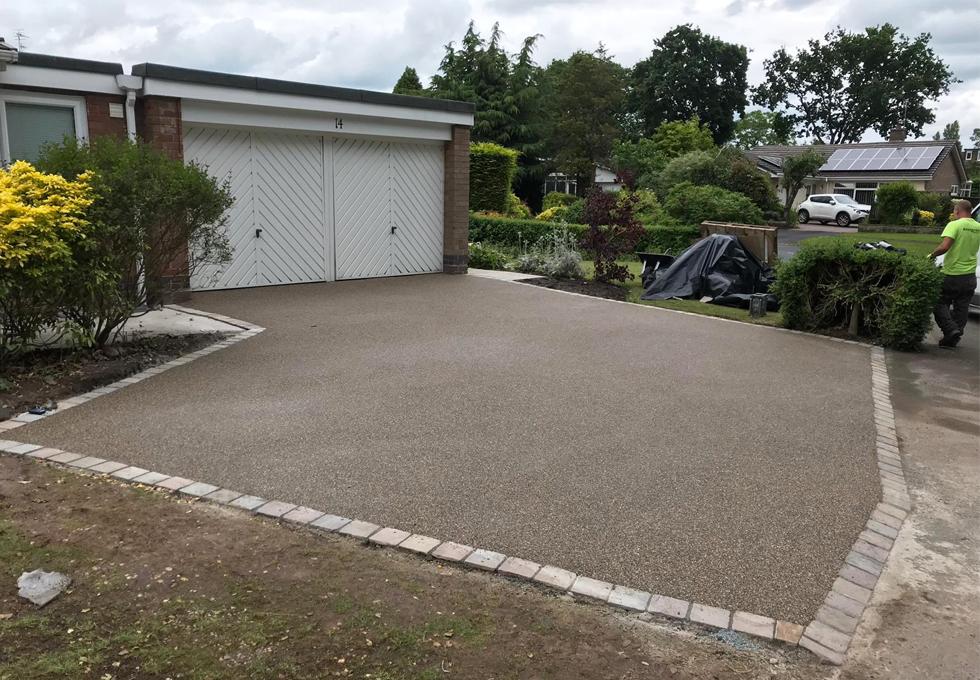 Resin driveway installation Cheshire