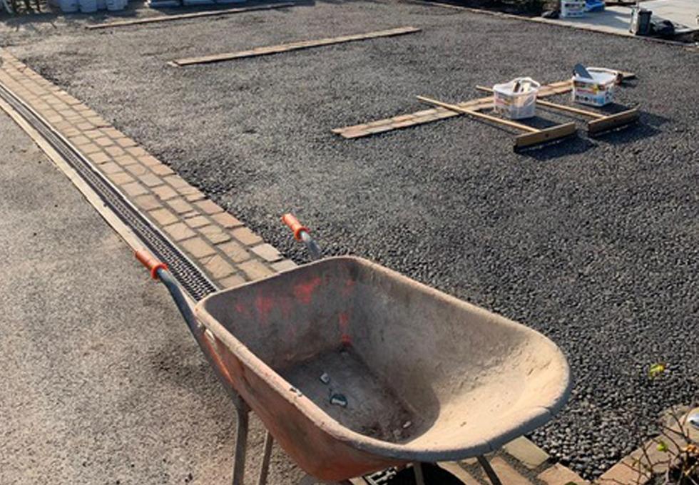 Resin parking bay installation Cheshire