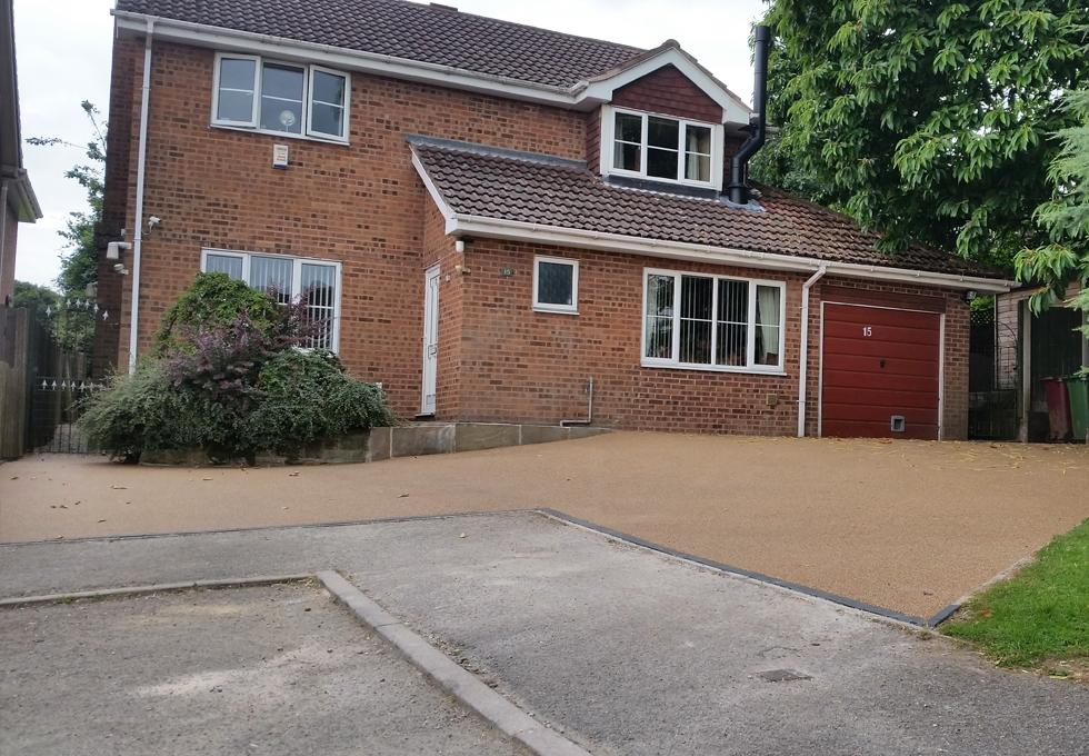 Resin driveways Cheshire