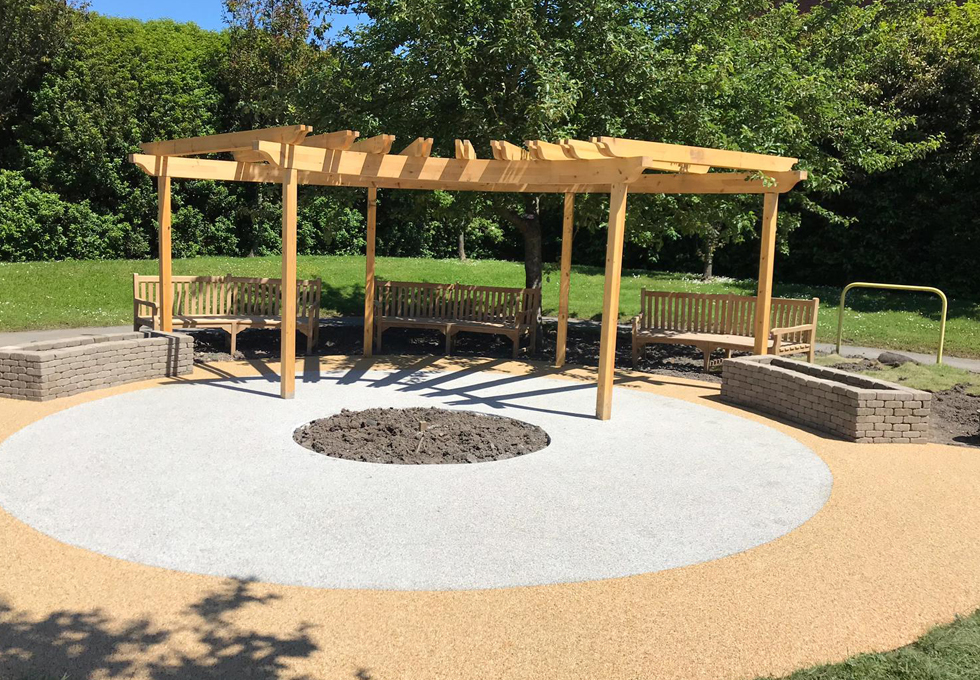 Resin patio installation Cheshire