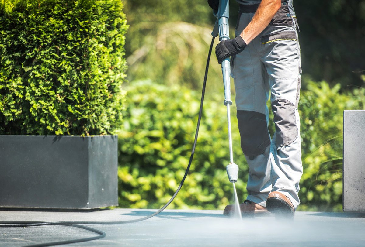 Cheshire pressure washing services